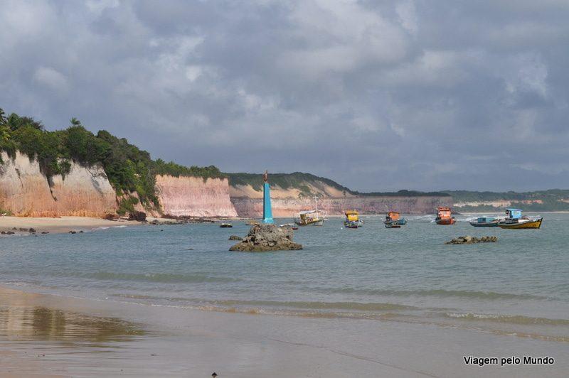 Caminhada entre a Praia do Amor e Praia das Minas em Pipa – RN