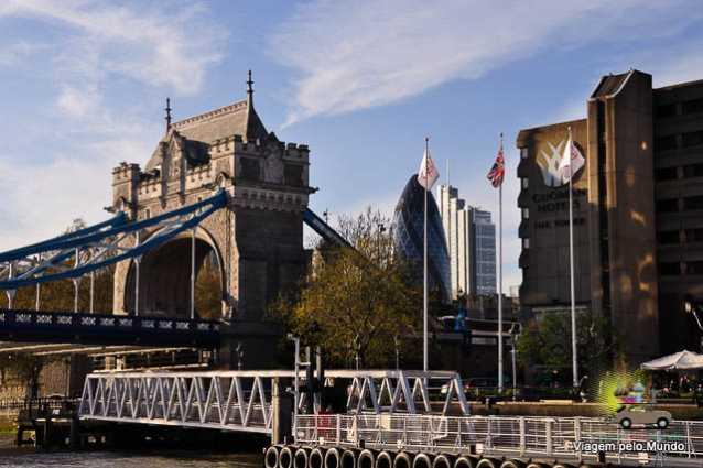 Passeio barco Tâmisa Londres-3