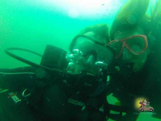 Batismo de mergulho do Fábio: agora somos 2 mergulhadores!