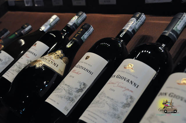Visita à vinícola Don Giovanni em Pinto Bandeira-2