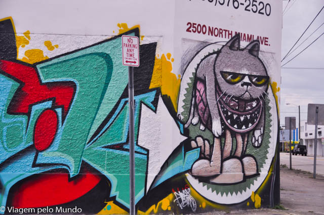 Graffiti e o Wynwood Arts District Miami