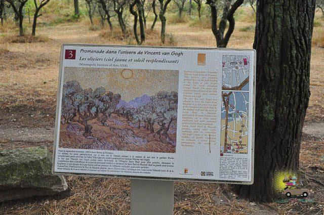 Um dia em Saint-Rémy-de-Provence e Van Gogh