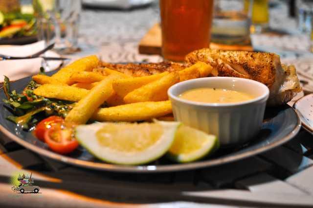 Restaurante Ginja em Cape Town (Waterfront)