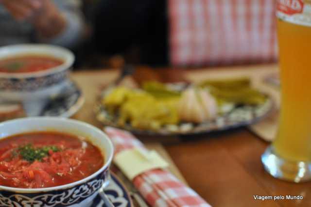 Receita de Borsch: sopa russa de beterraba