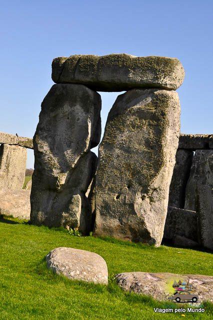 Visitando o Stonehenge - Inglaterra