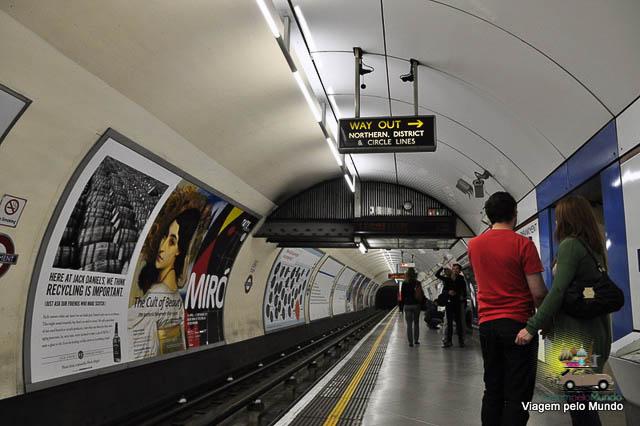 Dicas para usar o metrô de Londres