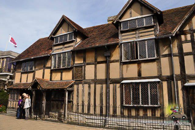 Stratford-upon-Avon: seguindo os passos de Shakespeare