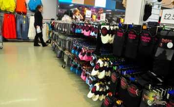 As lojas Primark na Inglaterra