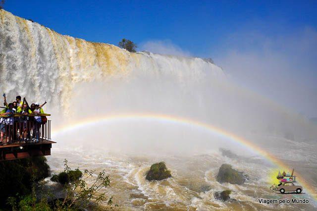 Cataratas do Iguaçu: lado brasileiro