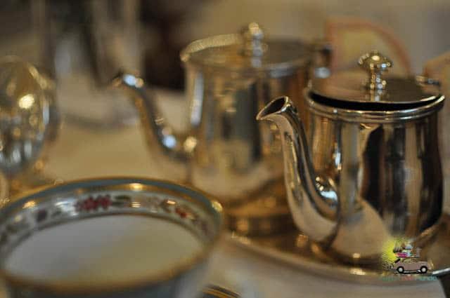 Chá da tarde Hotel Alvear