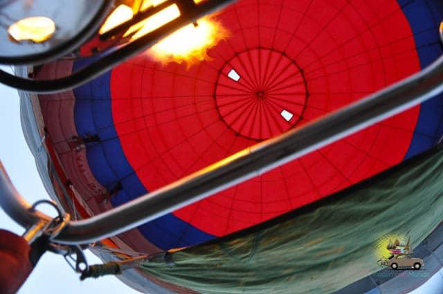 Passeio de balão Drakensberg Africa do Sul