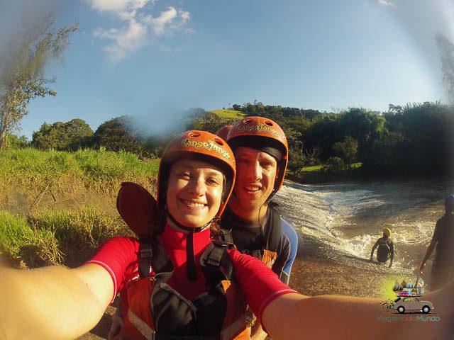 Rafting com o Kango Jango em Socorro - SP