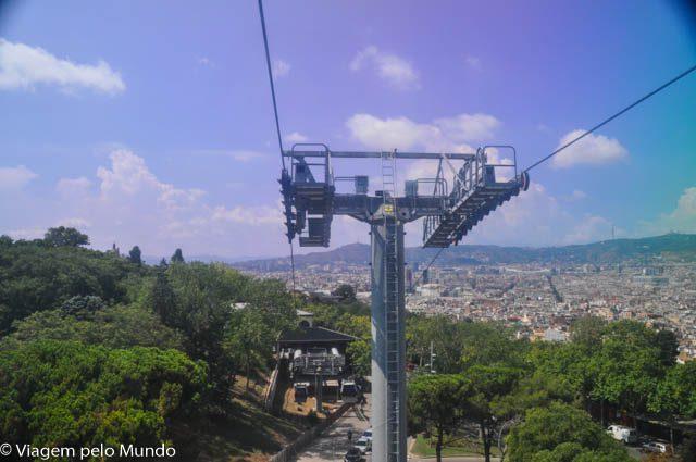 Roteiros: Teleférico Montjuic em Barcelona, Espanha