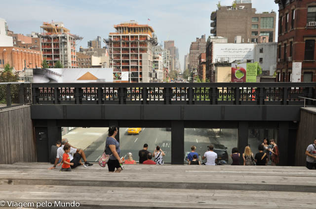 High Line Park em Nova York e a revitalização de uma região