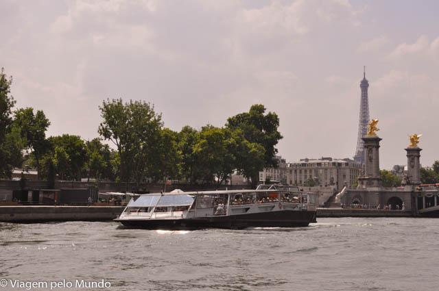 Passeio de barco Sena, Paris (4)
