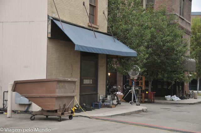 Uma visita aos estúdios da Warner em Los Angeles