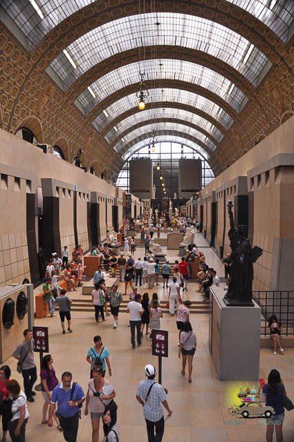 Museu D'Orsay em Paris, França: o que visitar