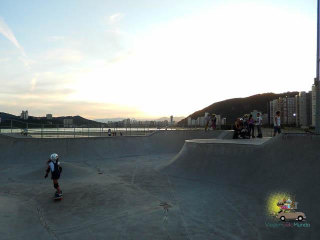 Pista Skate Quebra-mar Santos