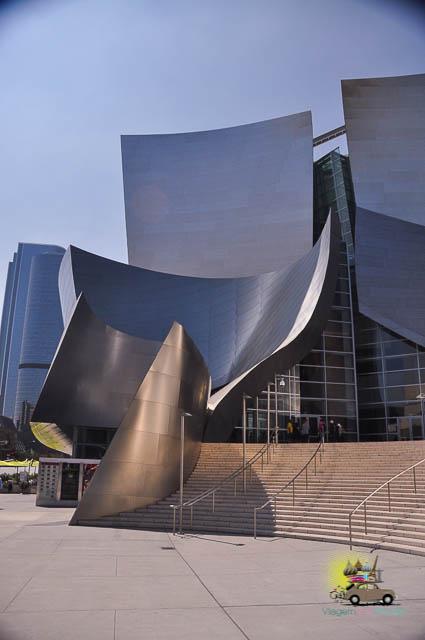 Tour Walt Disney Concert Hall em Los Angeles, Califórnia