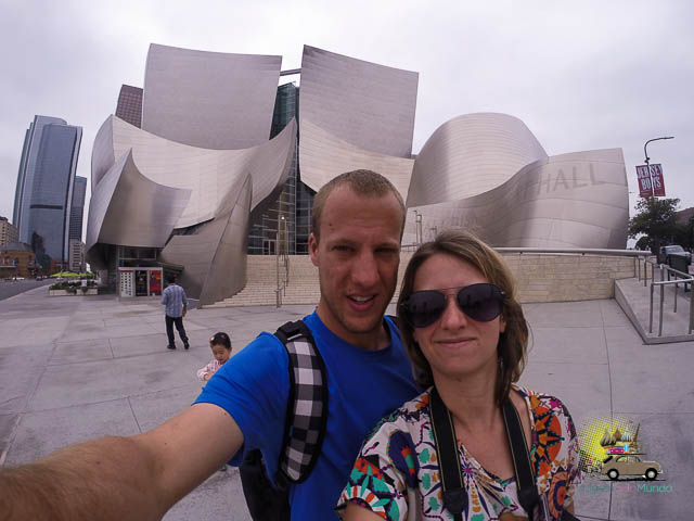 Tour Walt Disney Concert Hall em Los Angeles, Califórnia