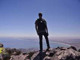 Table Mountain (Montanha da Mesa) em Cape Town