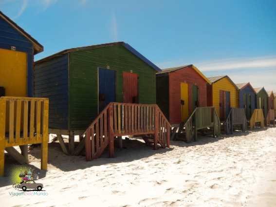 Surf em Muizenberg Beach em Cape Town: bate-volta