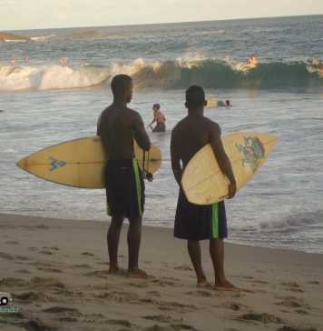 Picos de surf em Salvador