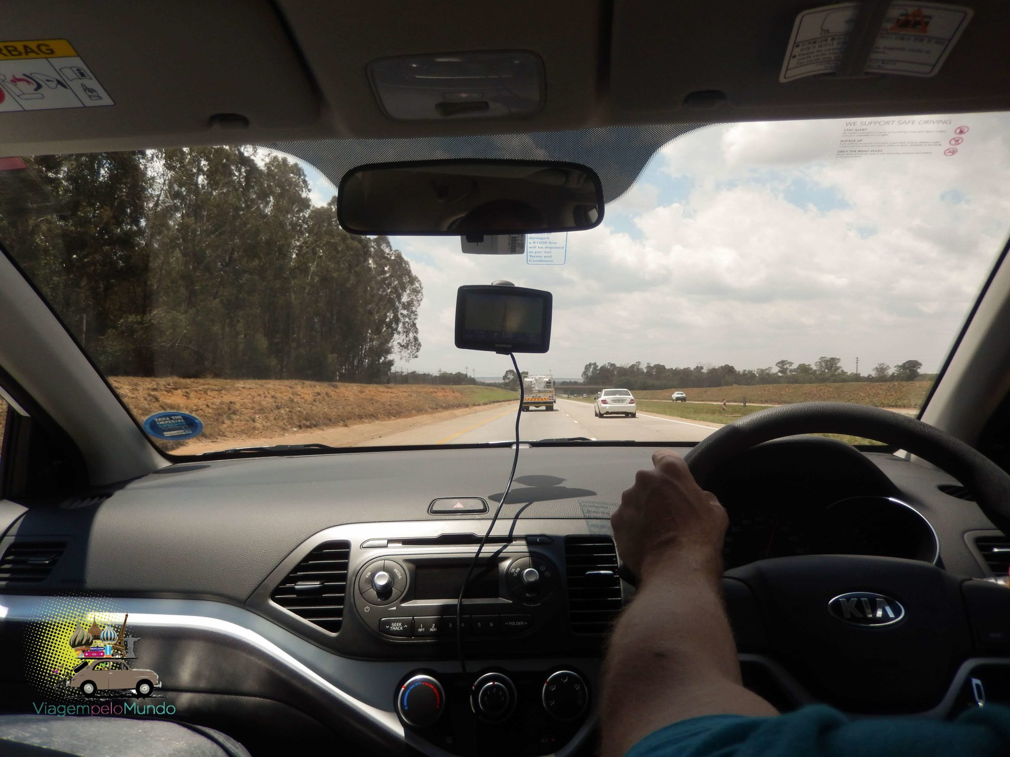 De Joanesburgo ao Kruger de carro