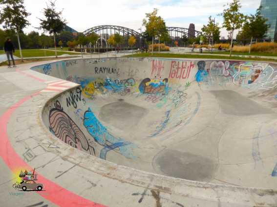 Pista de skate Frankfurt