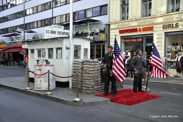 Roteiro pelo Muro de Berlim
