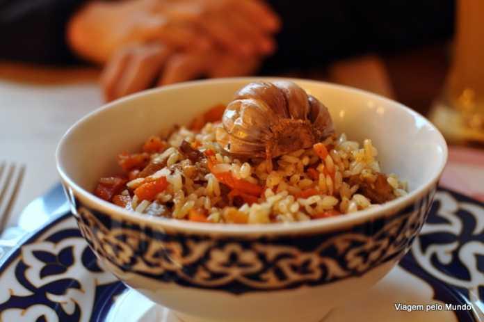 Plov: receita do Uzbequistão