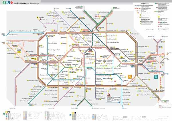 Metrô de Berlim e o transporte público