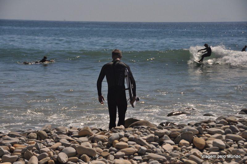 Points de Surf de Santa Barbara, Califórnia