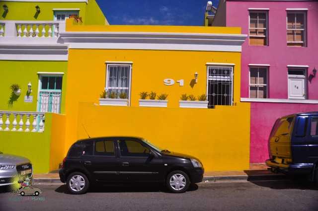 Bo-Kaap em Cape Town e a gentrificação