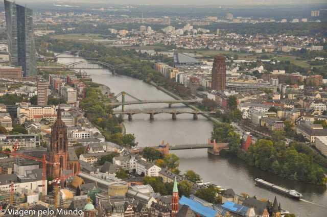 Main Tower Frankfurt: para uma vista panorâmica!