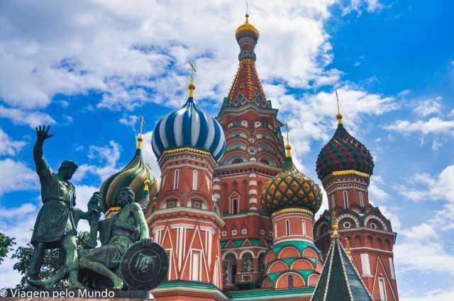 Catedral de São Basílio em Moscou, Rússia, Viagem pelo Mundo blog