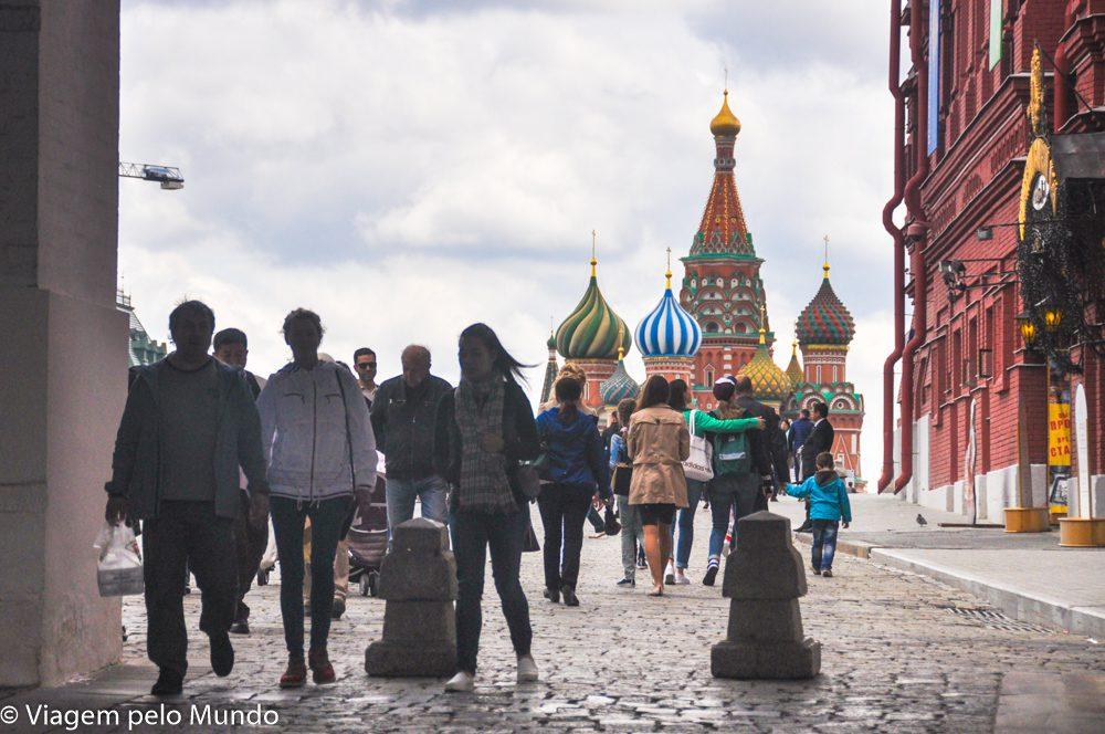Catedral de São Basílio Moscou