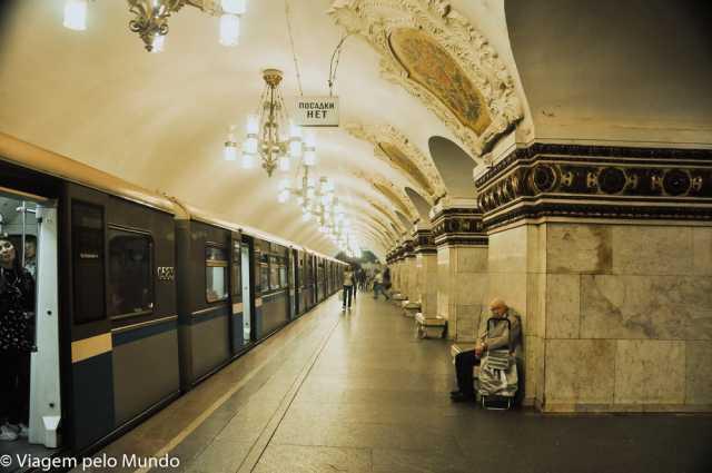 As estações mais bonitas de Moscou