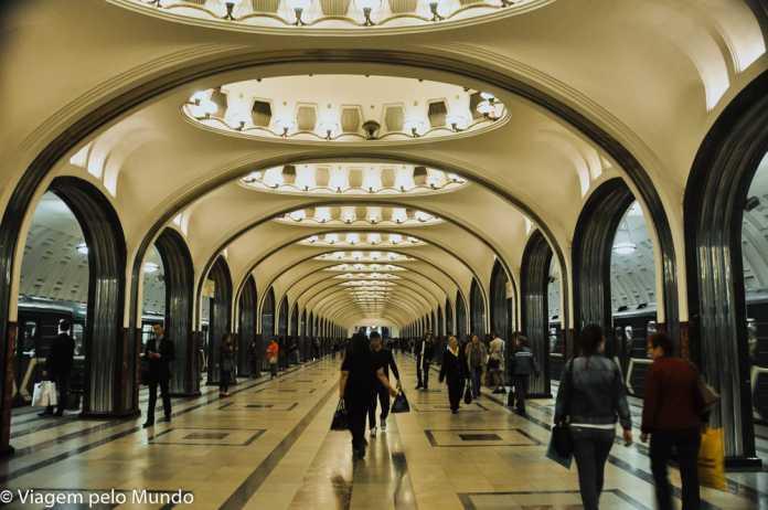 Metrôs Moscou