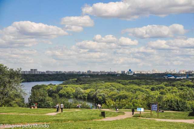 Parque Kolomenskoie em Moscou