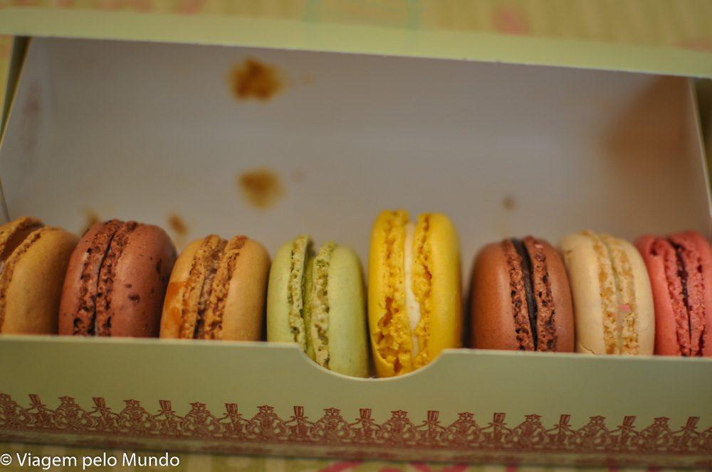 O melhor macaron de Paris- Pierre Hermé na Galeria Lafayette