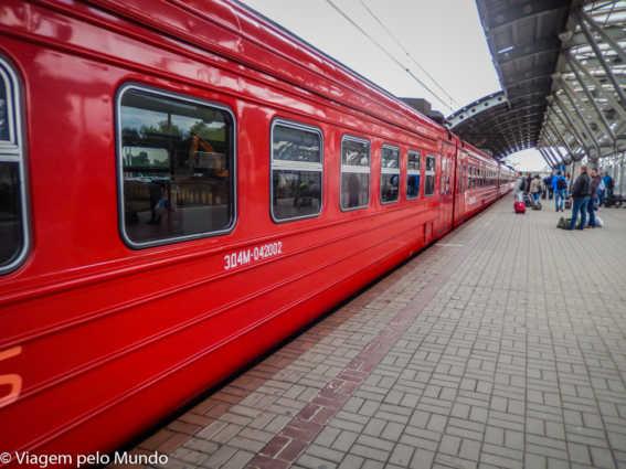 Trem Flecha Vermelha: de Moscou a São Petersburgo