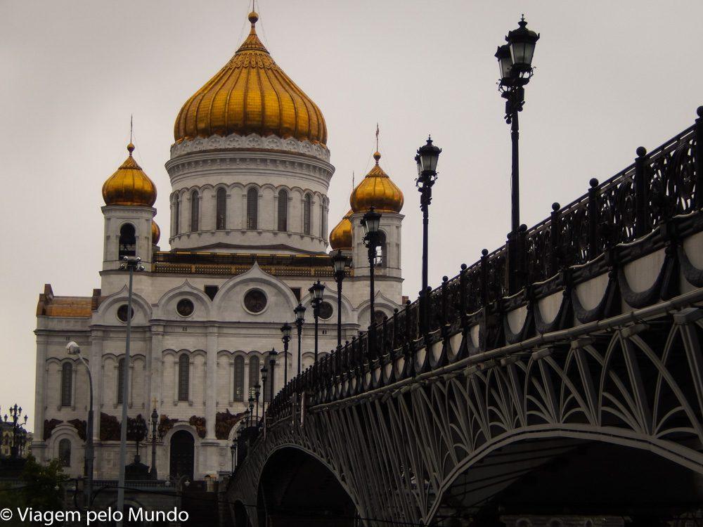 Catedral Cristo, o Salvador Moscou