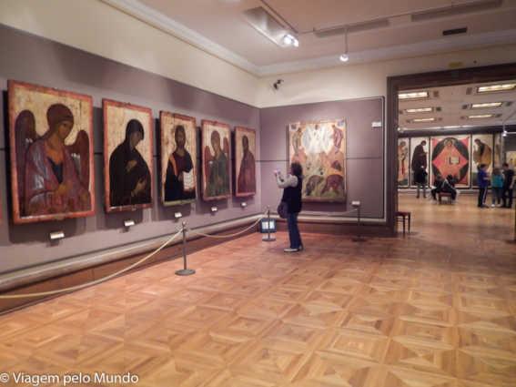 Galeria Tretiakóv em Moscou