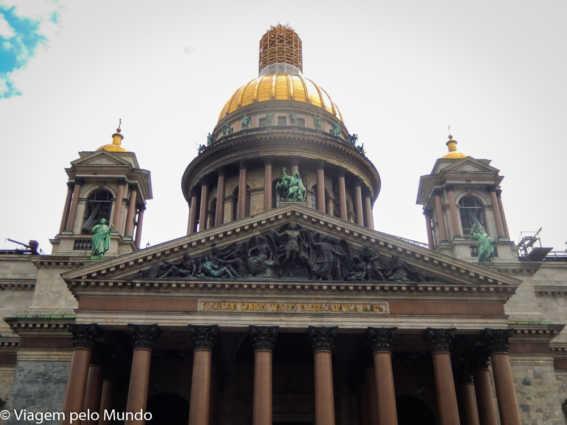 Catedral de Santo Isaac: vista linda de São Petersburgo
