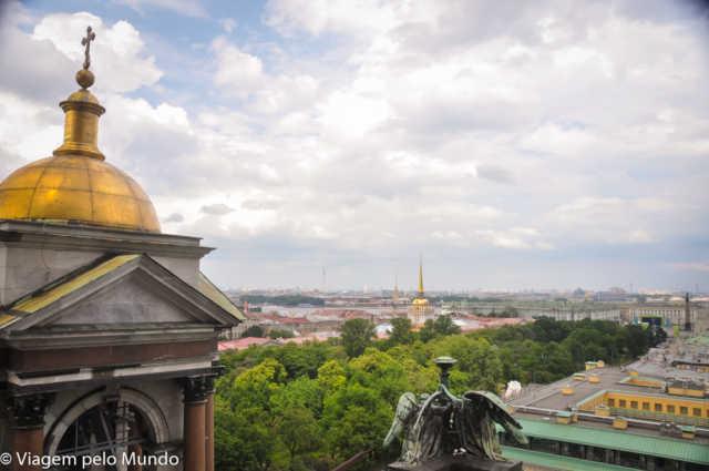 , Catedral de Santo Isaac: vista linda de São Petersburgo, Viagem pelo Mundo blog, Viagem pelo Mundo blog
