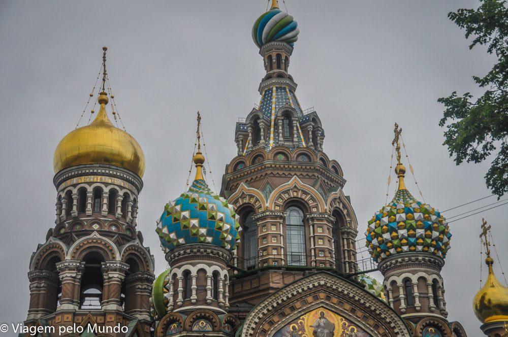 Catedral do Sangue Derramado São Petersburgo