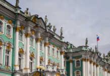 Viagem ao Hermitage em São Petersburgo, Rússia