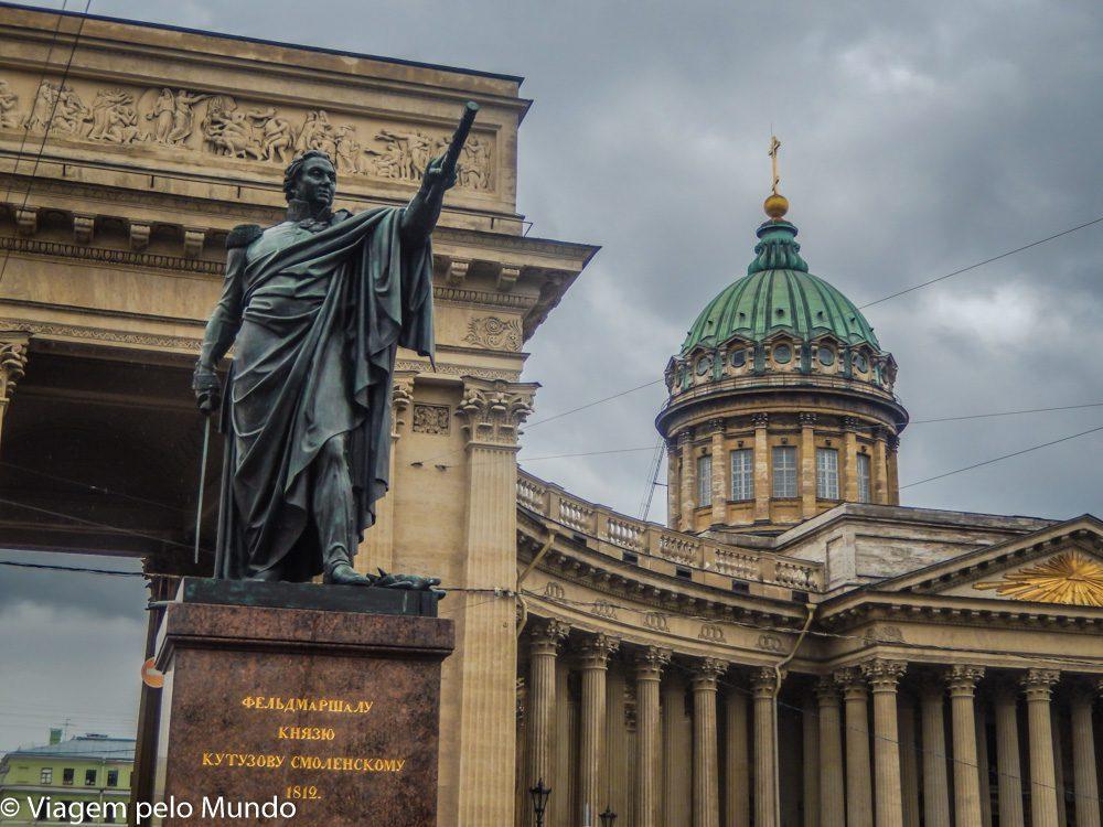Catedral Kazan São Petersburgo