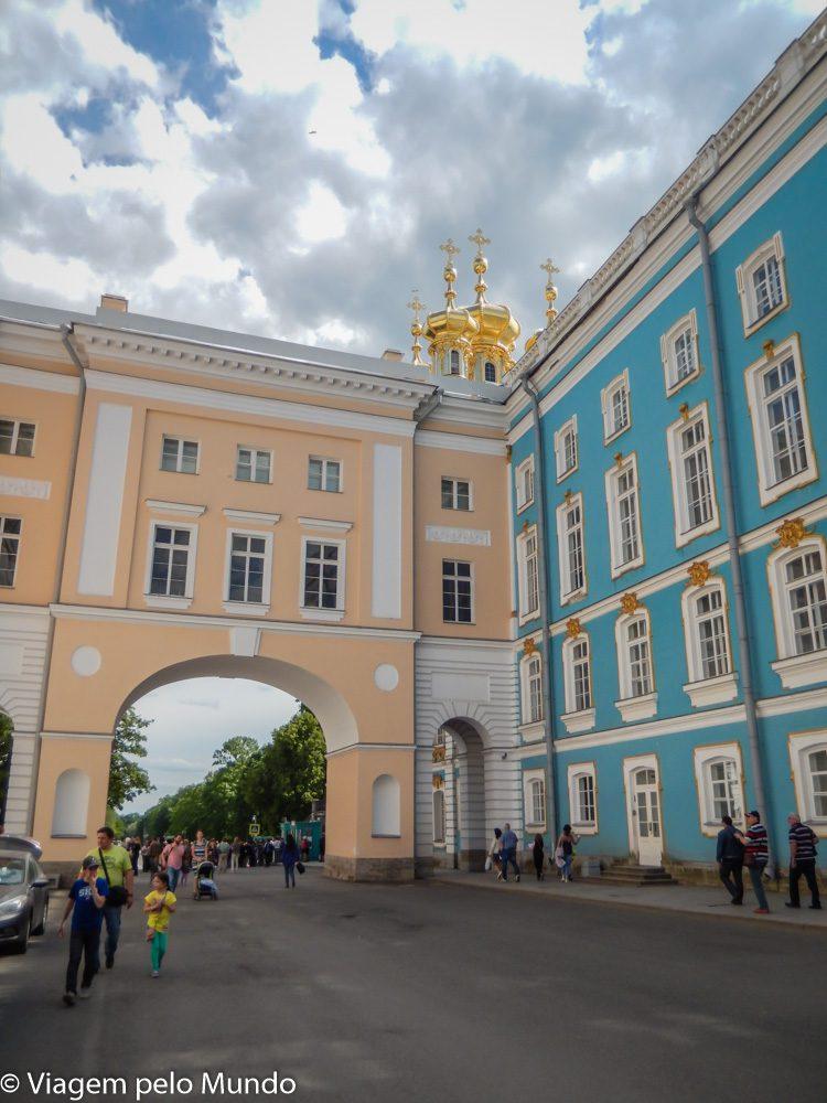 Palácio Catarina Tsarskoie Sielo Rússia